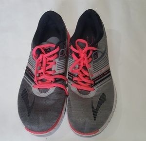 Brooks Pure Cadence 6 Gray Pink Running Shoes 11.5